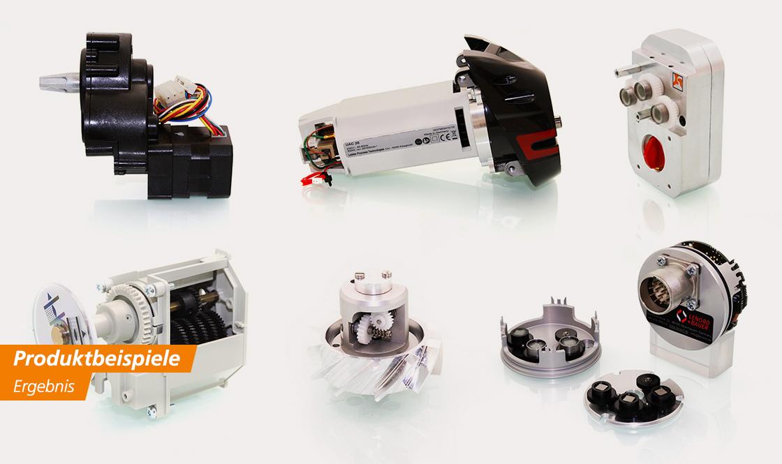 FeinwerkTechnik Geising - Kundenspezifische Antriebe Getriebe Entwicklung Konstruktion Herstellung Produkte