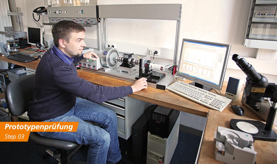 FeinwerkTechnik Geising - Kundenspezifische Antriebe Getriebe Entwicklung Konstruktion Herstellung Prototypenprüfung