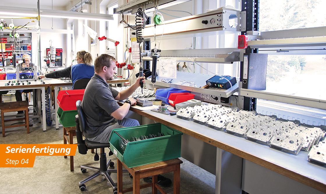 FeinwerkTechnik Geising - Kundenspezifische Antriebe Getriebe Entwicklung Konstruktion Herstellung Serienfertigung