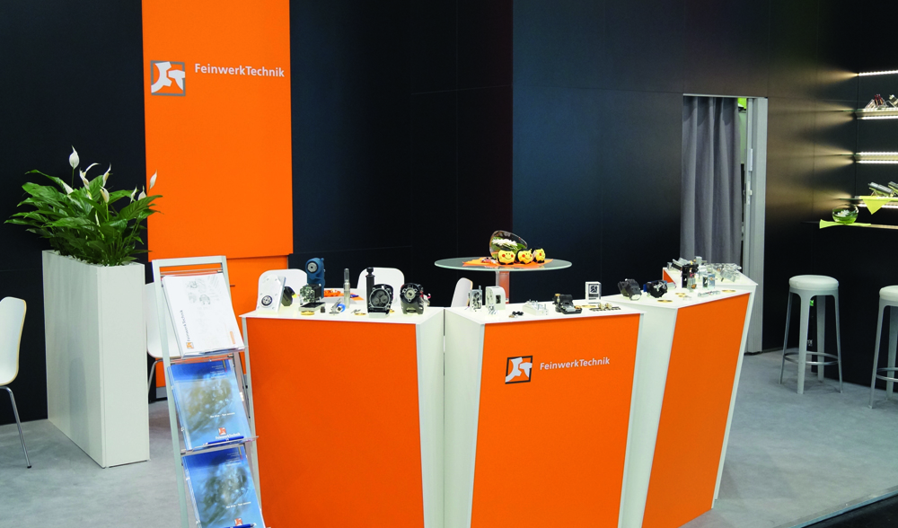 FeinwerkTechnik Geising - Messetermine Kundenspezifische Antriebe Getriebebau Verzahnung